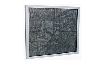 Nylon mesh flat filter