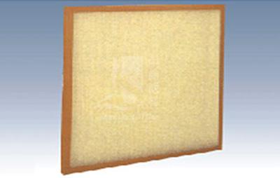 High temperature resistant synthetic fiber filter