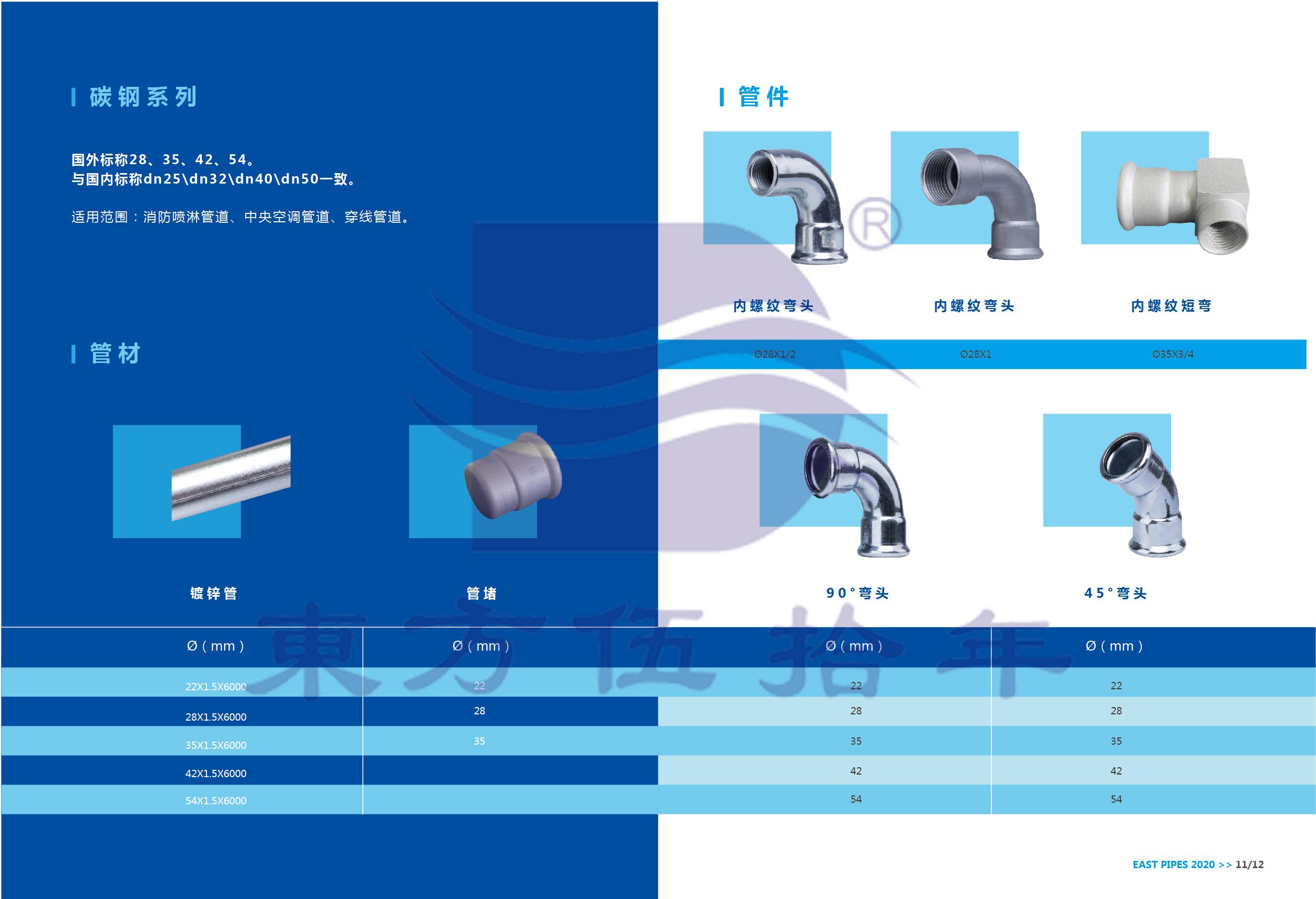 碳鋼卡壓式管材管件