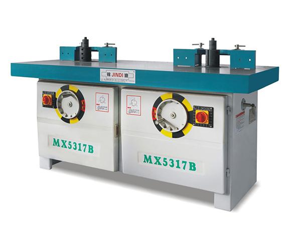 MX5317B立式雙軸木工銑床