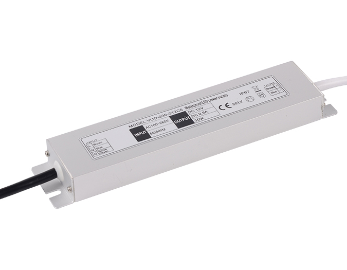 LED ultra-thin constant voltage waterproof power supply C series 30W